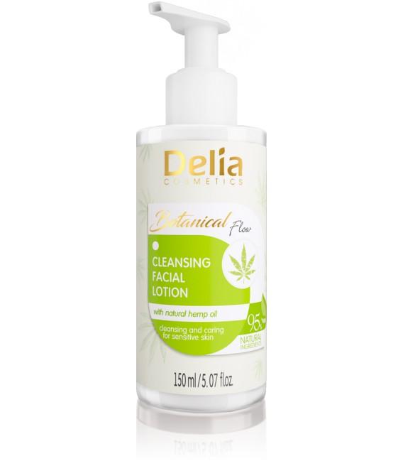 Emulsja myjąca do twarzy z naturalnym olejem konopnym BOTANICAL FLOW 150ml