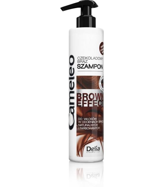 Odświeżający szampon z efektem pogłębienia koloru dla brunetek CAMELEO BROWN EFFECT 250ml