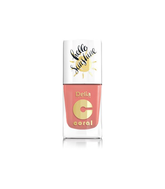 Lakier do paznokci CORAL HALLO SUNSHINE 11ml - 01