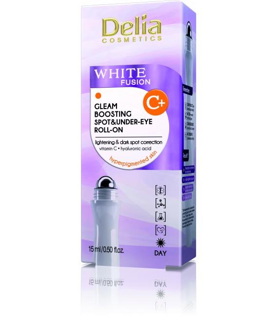 WHITE FUSION Roll-on punktowy i pod oczy wzmacniający blask skóry z witaminą C