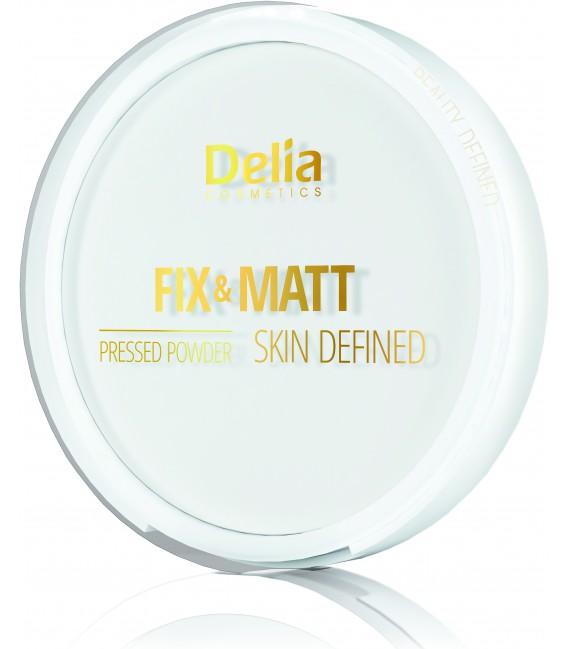 Puder utrwalający FIX&MATT SKIN DEFINED