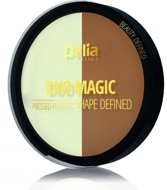 Puder rozświetlająco- brązujący DUO MAGIC SHAPE DEFINED 8g