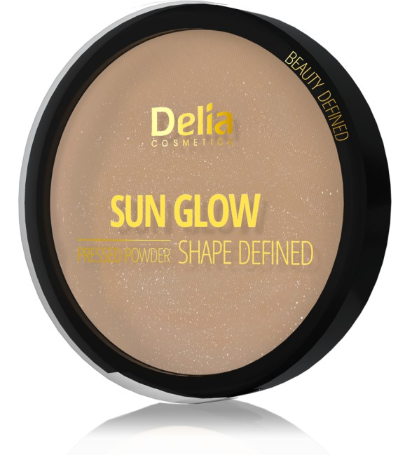 Puder brązujący SUN GLOW PRESSED POWDER SHAPE DEFINED 9g