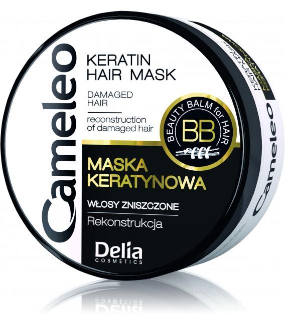 Mini maska keratynowa do włosów zniszczonych CAMELEO, 50ml