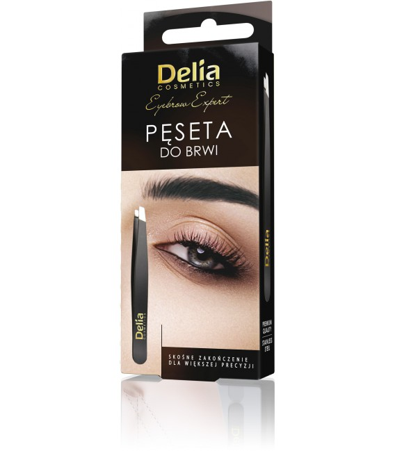 Pęseta do brwi DELIA COSMETICS
