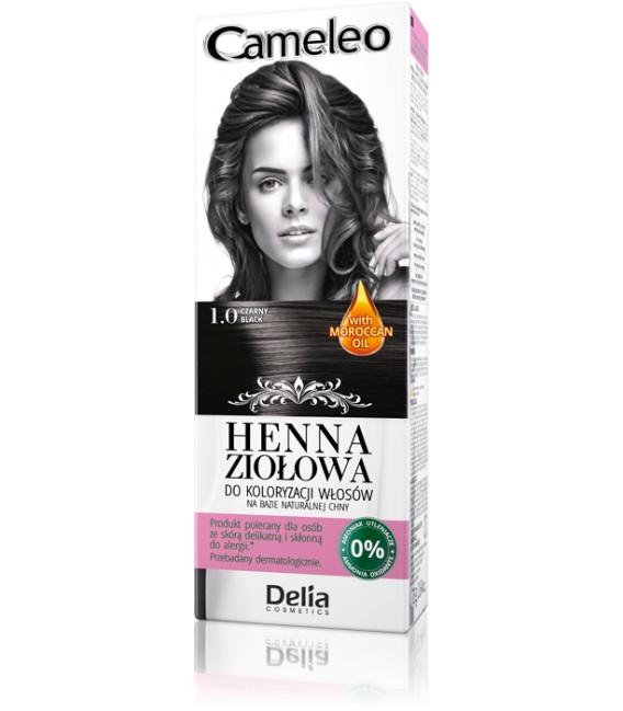 Henna do włosów - farba hipoalergiczna CAMELEO
