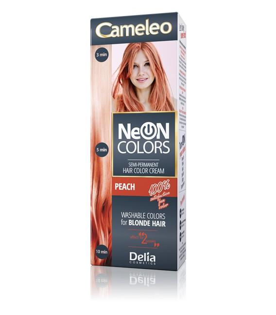 Farba zmywalna neonowa do włosów, 2-tygodniowa NEON COLORS CAMELEO