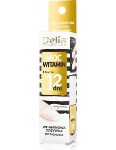 Odżywka do paznokci MOC WITAMIN, efekt w 12 dni, 11ml