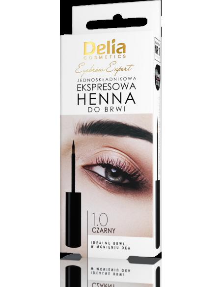 Henna do brwi ekspresowa DELIA COSMETICS, 6ml