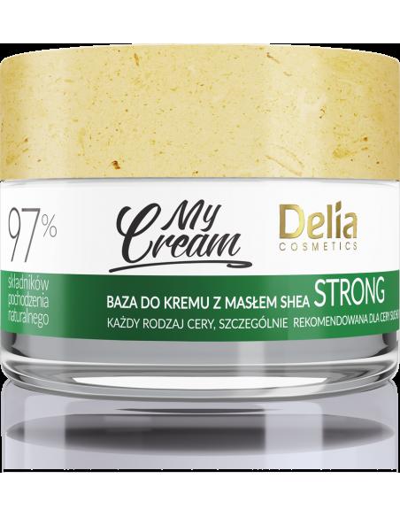 Baza do kremu MyCream STRONG z masłem shea, gęsta, bogata formuła, 50ml