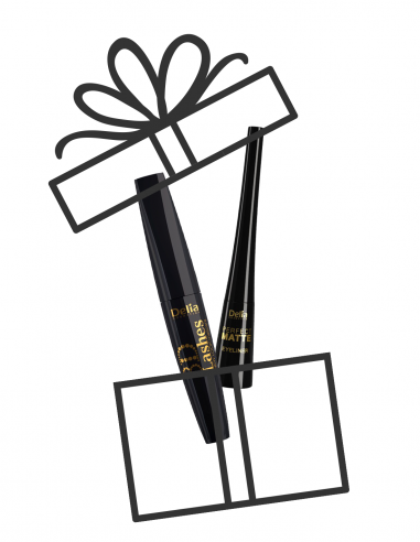 Maskara 3D Lashes NEW LOOK + eyeliner...