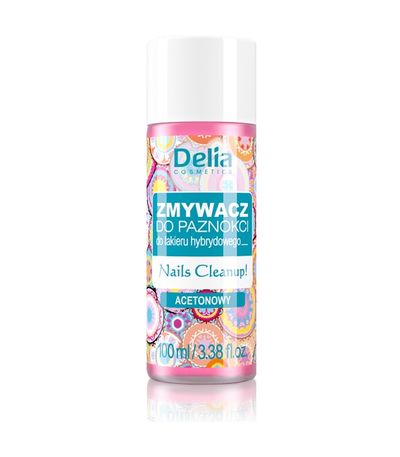 Zmywacz do hybrydy DELIA COSMETICS