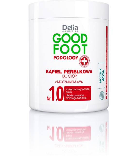 Kąpiel perłkowa do stóp GOOD FOOT PODOLOGY DELIA COSMETICS