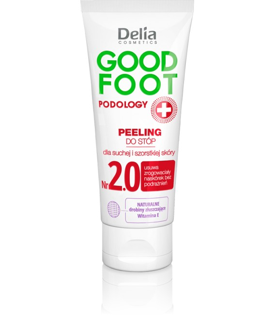 Peeling do stóp GOOD FOOT PODOLOGY DELIA COSMETICS