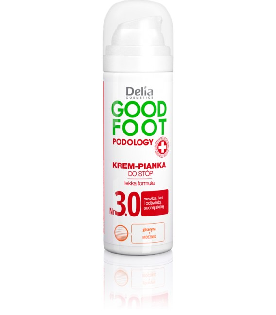 Krem - pianka do stóp GOOD FOOT PODOLOGY DELIA COSMETICS