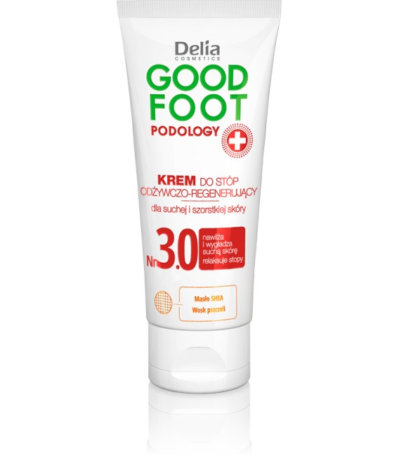 Krem odżywczo - regenerujący do stóp GOOD FOOT PODOLOGY DELIA COSMETICS
