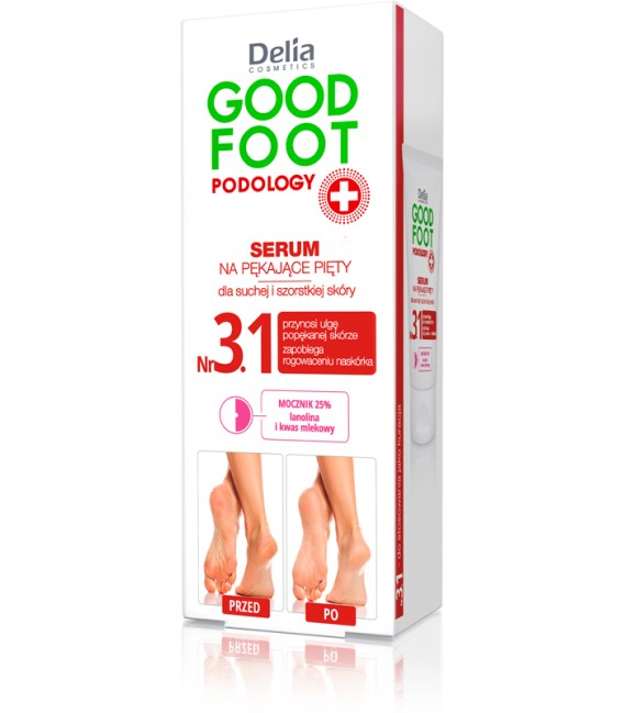 Serum na pękające pięty GOOD FOOT PODOLOGY DELIA COSMETICS
