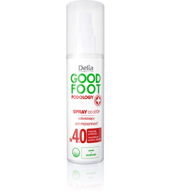 Odświeżająco - relaksujący spray do stóp GOOD FOOT PODOLOGY DELIA COSMETICS