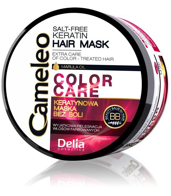 Maska keratynowa do włosów farbowanych CAMELEO 200 ml