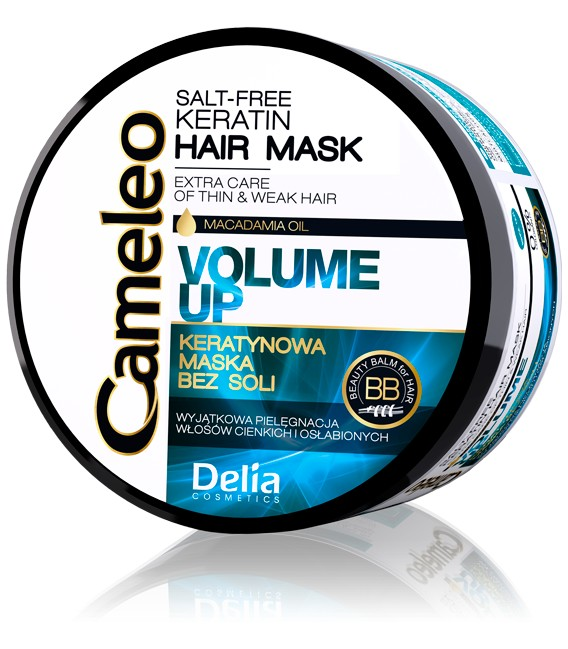 Maska keratynowa do włosów cienkich CAMELEO 200 ml