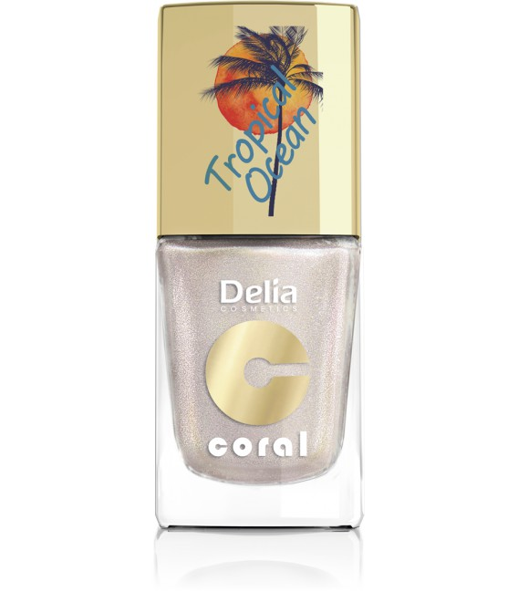 Lakier do paznokci  kolekcja Tropical Ocean  DELIA COSMETICS 11 ml