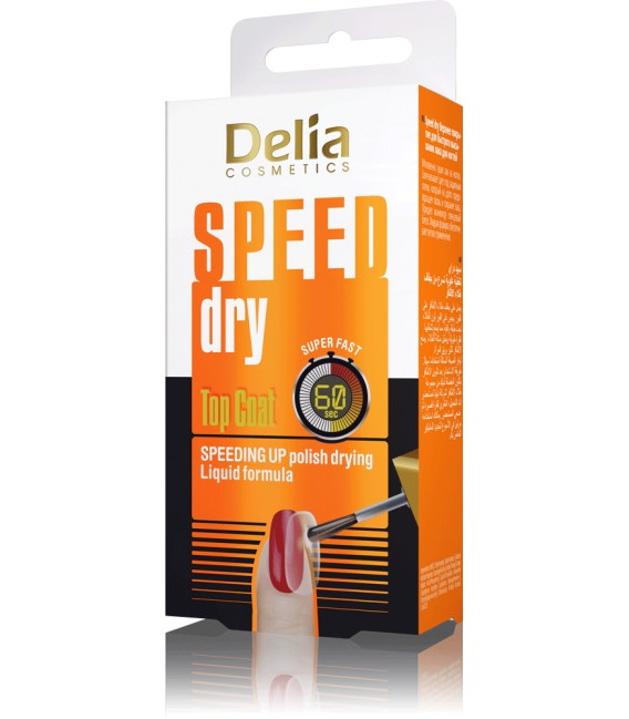 Top Coat SPEED DRY DELIA COSMETICS 11 ml
