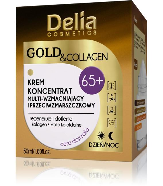 GOLD & COLLAGEN przeciwzmarszczkowy krem regenerujący 65+
