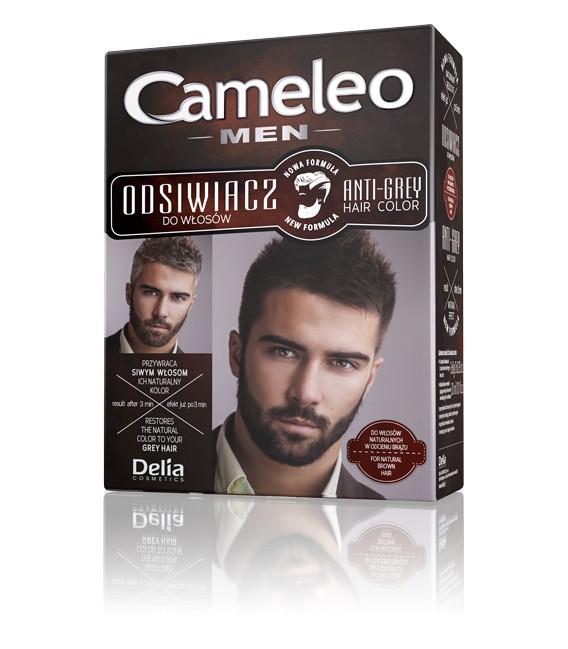 Odsiwiacz dla mężczyzn do włosów naturalnych w odcieniach brązu CAMELEO MEN