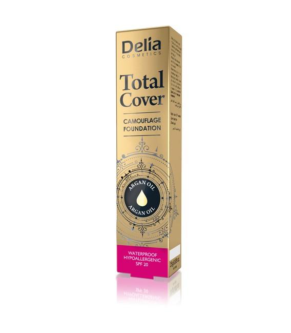 Podkład kryjący Total Cover 25g DELIA COSMETICS