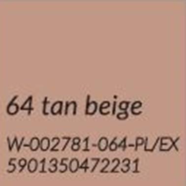 64 OPALONY BEŻ