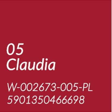 05 CLAUDIA - KLASYCZNA CZERWIEŃ