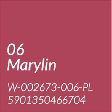 06 MARILYN - JASNA CZERWIEŃ