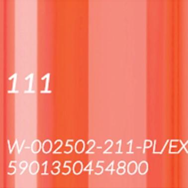 111 CIEPŁY POMARAŃCZOWY