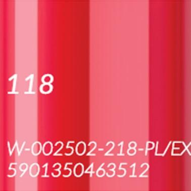 118 ORIENTALNA CZERWIEŃ